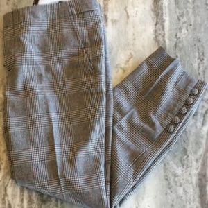 NWT Banana Republic Avery dress plaid pants